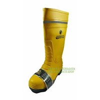 Sepatu Boot Safety Gosave Kuning