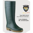 Sepatu BOOT TOYOBO Putih Hijau kuning 8808 Sepatu safety 1