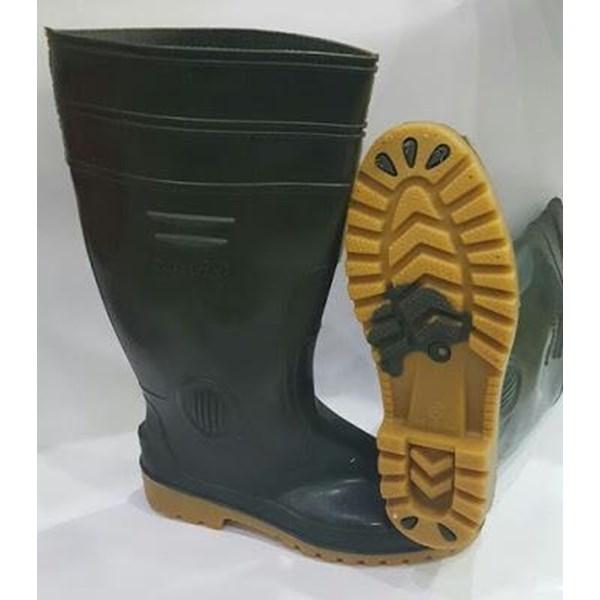 Sepatu Boot Panfix Green Hijau Panjang