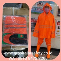 JAS HUJAN SAFE-T orange
