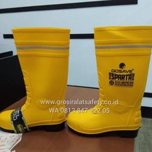 Sepatu Safety Boot Gosave Kuning