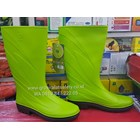 Sepatu Boots AP eco green  hijau muda 2