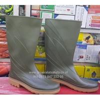 Sell Sepatu Boots AP eco green hijau muda d0f1f16c94