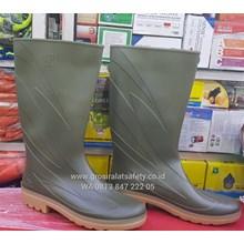 Sepatu Boots AP eco green  hijau muda