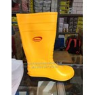 Sepatu safety Boots Leoprad Kuning 1