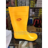 Sepatu safety Boots Leoprad Kuning