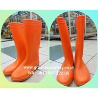 Sepatu Boots Ando Orange