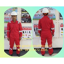 Wearpack / Coverall Terusan Merah