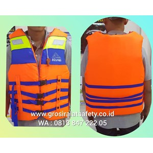 Life Jacket Pelampung Atunas Orange