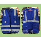 Pakaian Safety Rompi Safety Drill Kain 4 Kantong 1