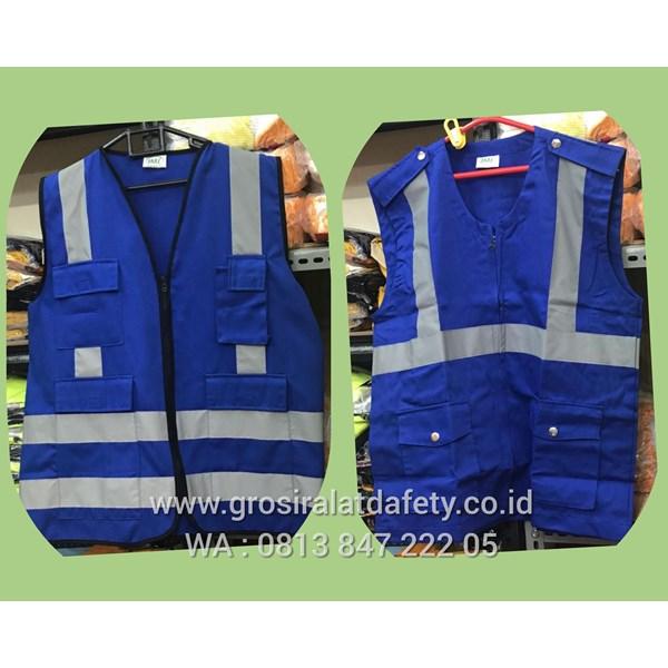 Pakaian Safety Rompi Safety Drill Kain 4 Kantong