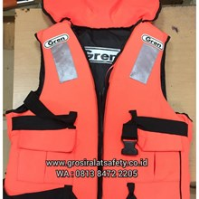 Life Jacket Pelampung Double Spoon GREEN