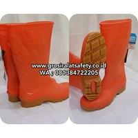 Sepatu Boot ANDO Oranye HELIOS Original