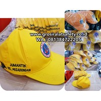Orange Fabric Hat For PPSU And Jumantik Cleaning Officers 1