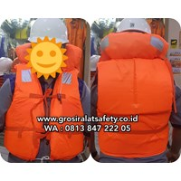 Life Jacket Pelampung Safety Dengan Double spoon l