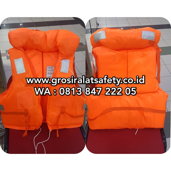Life Jacket Pelampung Safety Dengan Double spoon leher