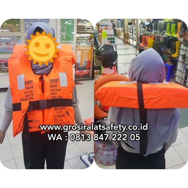 Life Jacket Pelampung Safety Lalizas Super Busa tebal Kotak