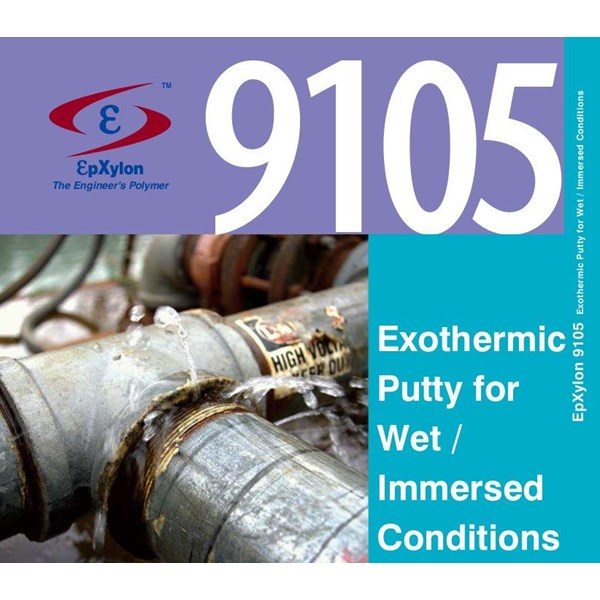 EpXylon 9105 Exothermic Putty for Wet - Immersed Conditions