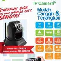 Ip Cam Super Spring (Bye-Bye Kabel Panjang)