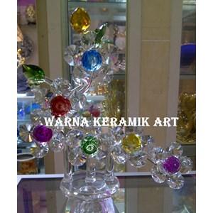 Dekorasi Bunga Kristal Unique