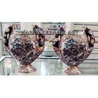 Jual  Guci Keramik Koleksi Pasangan