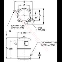 Kompressor Kulthorn LA 5610EXG