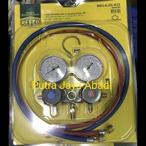 kompresor AC Manifold Refco BM2-DS-6-R22