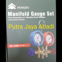 kompresor AC manifold Hongseng