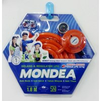 Jual Mondea LPG Hose + Regulator
