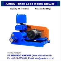 Jual Airus Roots Blower HG series (Three-Lobe)