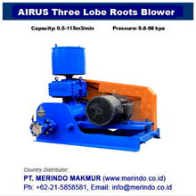 Airus Roots Blower HG series (Three-Lobe)