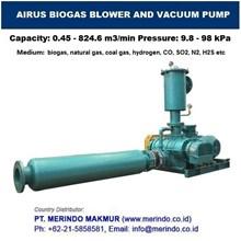 AIRUS BIOGAS BLOWER & VACUUM PUMP