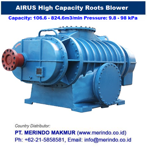 Dari AIRUS Turbo Blower and Maglev Blower 3