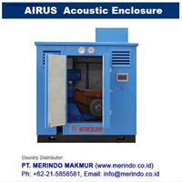 AIRUS Noise Enclosure for roots blower 1
