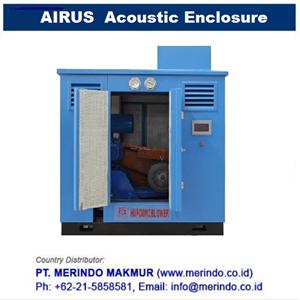 AIRUS Noise Enclosure for roots blower