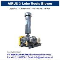 Jual AIRUS Roots Rotary Air Blower