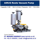 AIRUS Coal Gas Booster Pressure Blower and Coal Gas Vacuum Pump