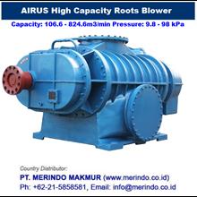 Airus Rotary Blower ( HDR series Tinggi Kapasitas Lobe blower)