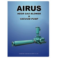 AIRUS GAS BOOSTER ROTARY BLOWER AND VACUUM PUMP