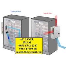 AC Panel Mesin Pendingin Panel Industri - Solusi Panel Panas - Mendinginkan Suhu Ruangan Panel