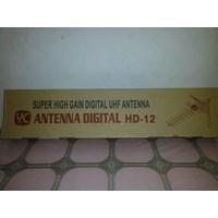 Yc Antena Digital Hd 12 Plus Kabel Antena 15 Meter