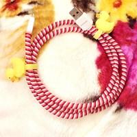 Jual Pelindung Kabel Spiral Cord Cable Protector 2