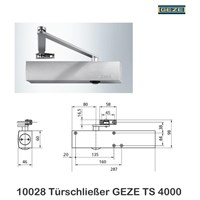 Jual Door Closer TS 4000 2