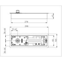 Distributor Penutup Pintu Tanam GEZE TS 500 EN3/NV (Floor Spring/Floor Hinge) 3