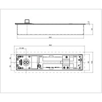 Jual Penutup Pintu Tanam GEZE TS 550 NV (Floor Spring/Floor Hinge) 2