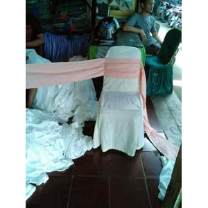 Sarung Kursi model pita cathy batam