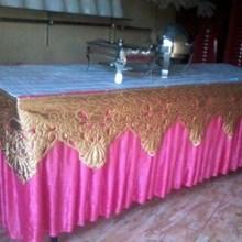 Pusat Cover Meja Prasmanan Murah