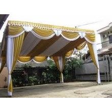 Tassel And Fringe Party Tent
