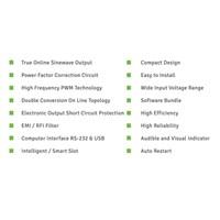 Jual UPS SE-6100 (6000VA - TRUE ONLINE SINEWAVE) 2