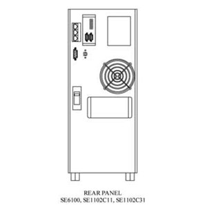 UPS SE-6100 (6000VA - TRUE ONLINE SINEWAVE)
